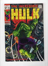 The Incredible Hulk #111 (Jan 1969, Marvel) - Very Fine