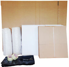 41 New Cardboard Boxes House Moving Removal Packing Kit