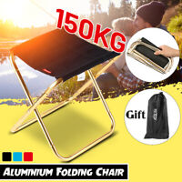 Large Folding Chair Portable Outdoor Camping Picnic BBQ Stool Fishing Seat 🚗