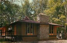 Fairview Michigan~Michi Lu Ca LCA Conference Center & Camp~Unit Lodge~1950s PC