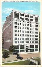 High Point North Carolina Furniture Expo Bldg. Antique Postcard K40035