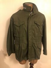 Vintage 60s 70s Usn Field Jacket Military Navy Wpl 10881 Emar Zipper - Size M/L