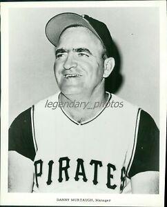 1970s Danny Murtaugh Pittsburgh Pirates Manager Original News Service Photo
