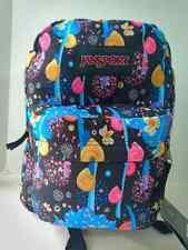 JanSport Backpack Superbreak School Bag Book Back Pack Sea Shell Multi-color