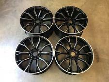 """20"""" 669M G30 ruote di stile Gloss Black fresato ha parlato BMW E90 E91 E92 E93 3 Series"""