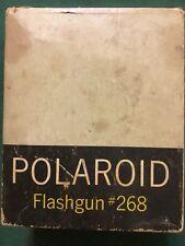 Vintage Polaroid Flashgun #268 X 2 with Original Box No Bulbs