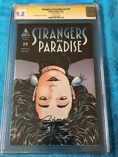 Strangers in Paradise v3 #19 -Abstract - CGC SS 9.8 NM/MT -Signed by Terry Moore