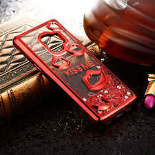 Lip Print Quicksand Dynamic Liquid Phone Case For Samsung Galaxy S9 S8 Plus S7