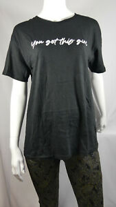 Ladies Women Plus You Got This T-Shirt Size 16 - 28 RRP £12.99 LTOct05-4