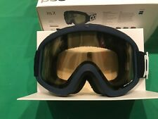 POC Iris X Lead Blue Goggles w/ Yellow Lens.Medium.NWT.