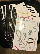 8 Books Of FingerTips with a Touch of Theory Book 1 And 2