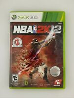 NBA 2K12 - Xbox 360 Game - Complete & Tested