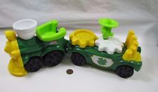 New Fisher Price Little People ST. PATRICK'S DAY PARADE TRAIN ONLY Musical 2003
