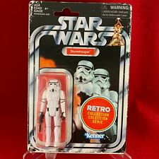 Star Wars RETRO COLLECTION - STORMTROOPER Figure - MINT ON CARD (MOC)