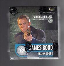 2009 James Bond Mission Logs sealed Box
