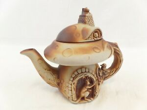 Swagman Pottery Tea Pot, Ceramic, Australian Animals Cottage.