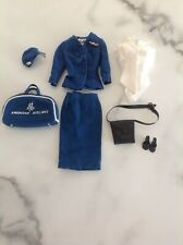 Vintage Barbie Clothes American Airlines Stewardess w/Accessories #984