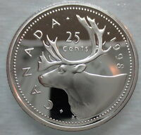 1998 CANADA 25 CENTS PROOF SILVER QUARTER KEY DATE COIN ☆ KEY DATE ☆