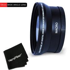 58mm Wide Angle Lens Attachment f/ CANON EOS 1200D 1100D 100D 760D 750D