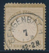 Echte gestempelte ungeprüfte Briefmarken aus dem Deutschen Reich (bis 1945)