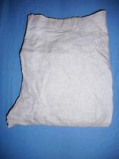 Christian Dior -W34 L32- Mens Purple Pin Stripe Linen Trousers Pants - G247