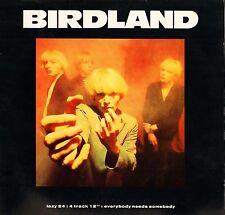 """BIRDLAND everybody needs somebody LAZY 24T uk lazy records 1991 12"""" PS EX/EX"""
