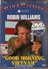 Robin Williams GOOD MORNING VIETNAM nuovo sigillato DVD da collezione SIAE ROSA
