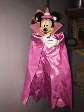 2019 Halloween 12in Hanging  Minnie Mouse Dracula Vampire Prop Decoration .