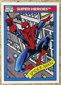 1990 Impel Marvel Universe Series 1 Spider-Man #29
