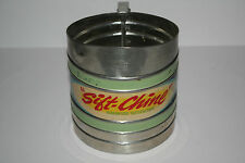 """Vintage """"Sift - Chine"""" Flour Sifter with Original Advertising Band"""