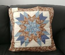 """18""""x18"""" Star Patterns Quilt Throw Pillow Cover Set of 2"""