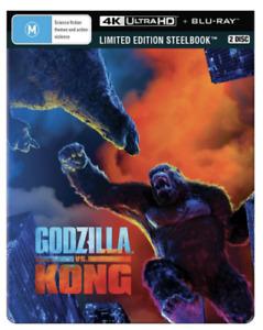 Godzilla Vs Kong 4K UHD + BLU-RAY STEELBOOK REGION B