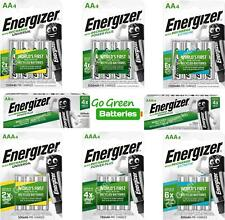 More details for energizer rechargeable batteries aa 1300 2000 2300 mah aaa 500 700 800 mah nimh