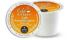 Cafe Escapes Pumpkin Spice K-Cups, 96 Count read description