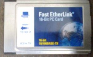 3COM 16-BIT LAN CARDBUS ADAPTER - (R11-1)