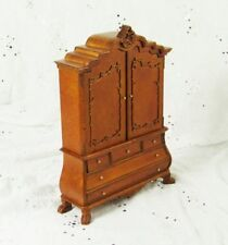 Hanamini 1:12 Casa delle bambole per dollhouse - walnut dollhouse for dollhouse