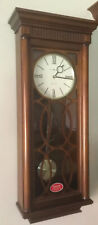Nice HOWARD MILLER WALL CLOCK WITH HARMONIC TRIPLE CHIMES Kathryn  625-525