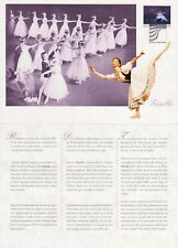 Opera Ballet Giselle Music Mint Maxi FDC Card Finland 1993
