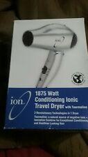 Ion 1875 Watt conditioning ionic travel dryer with tourmaline 301011
