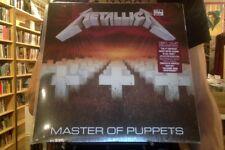 Metallica Master of Puppets LP sealed 180 gm vinyl reissue