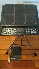 Roland Spd-Sx Sampling Drum Pad with power adapter, manual, Usb cable and stand