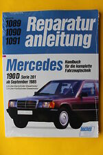 Mercedes Benz 190 D TD Diesel W201 Reparaturanleitung Handbuch