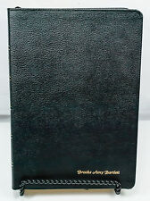 Life Application Study Bible NIV Black Leather Binding Red Letter Edition