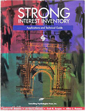 Strong Interest Inventory: Applications and Technical Guide, Lenore W. Harmon, J