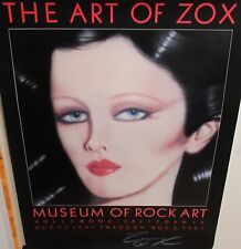 THE ART OF ZOX MUSEUM OF ROCK ART COLOR POSTER