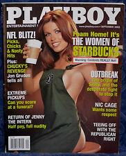 "Magazine PLAYBOY September 2003 !WOMEN OF STARBUCKS! ""LUCI VICTORIA-CENTERFOLD"""