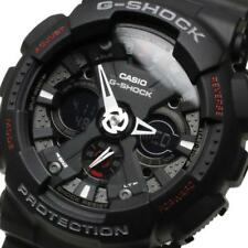 Casio Ga120-1a Mens Black Dial Quartz Watch With Resin Strap