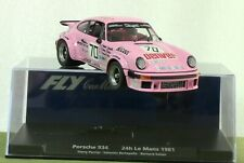 Like Scalextric: Fly Porsche 934 #70 LM'81 - pink! - new/boxed - see close-ups!