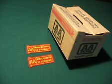 Winchester Aa Plus Target Load Box & Two Unused Winchester 25 Straight Patches