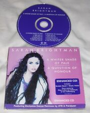 SARAH BRIGHTMAN A Whiter Shade of Pale [Maxi Single] CD 2001 Angel